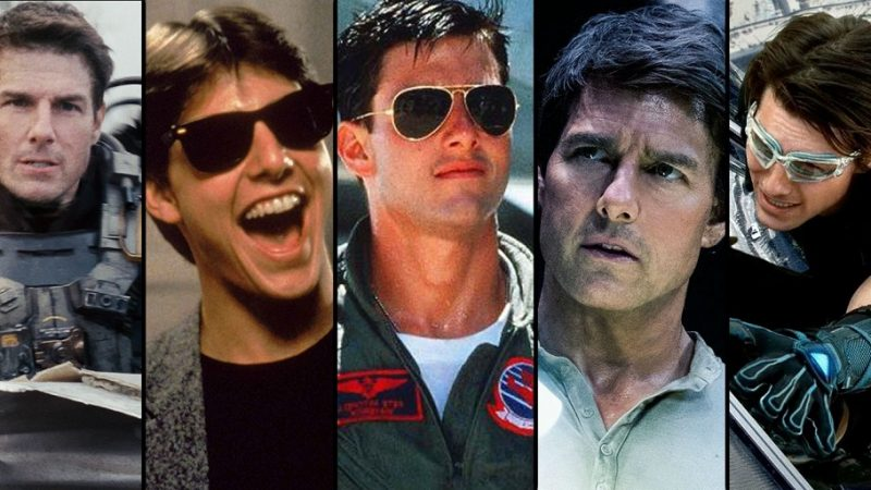 Tom Cruise in 10 movies! The characters who made it an icon