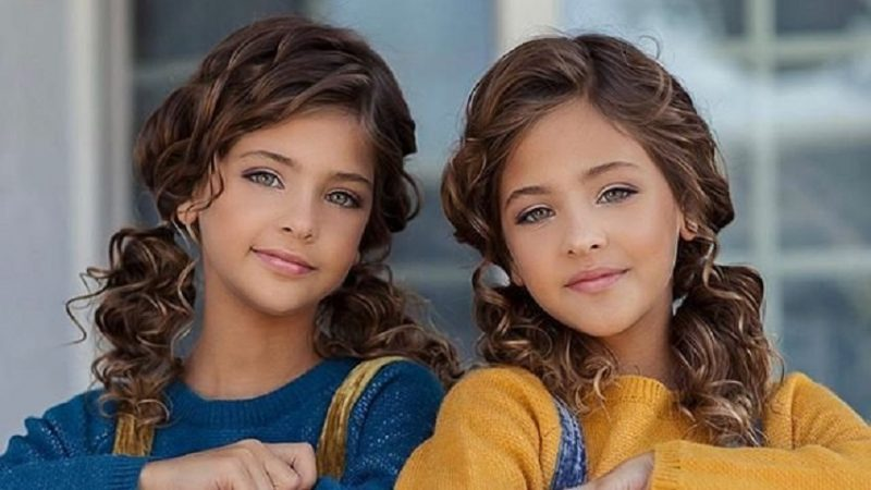 The most beautiful twins in the world: this is how they are now